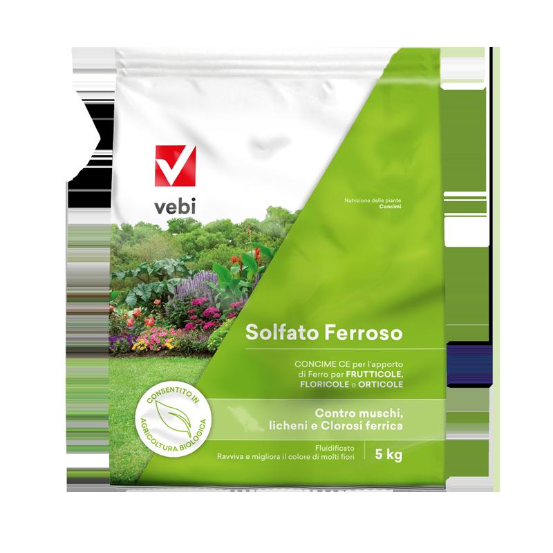 Concime Solfato ferroso