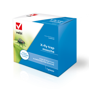 Trappola Insetticida X-Fly trap mosche