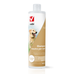Shampoo neutro per cani