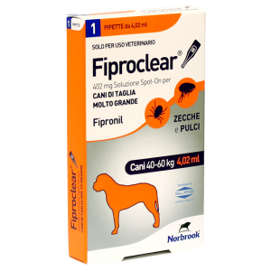 Linea veterinaria Fiproclear spot-on