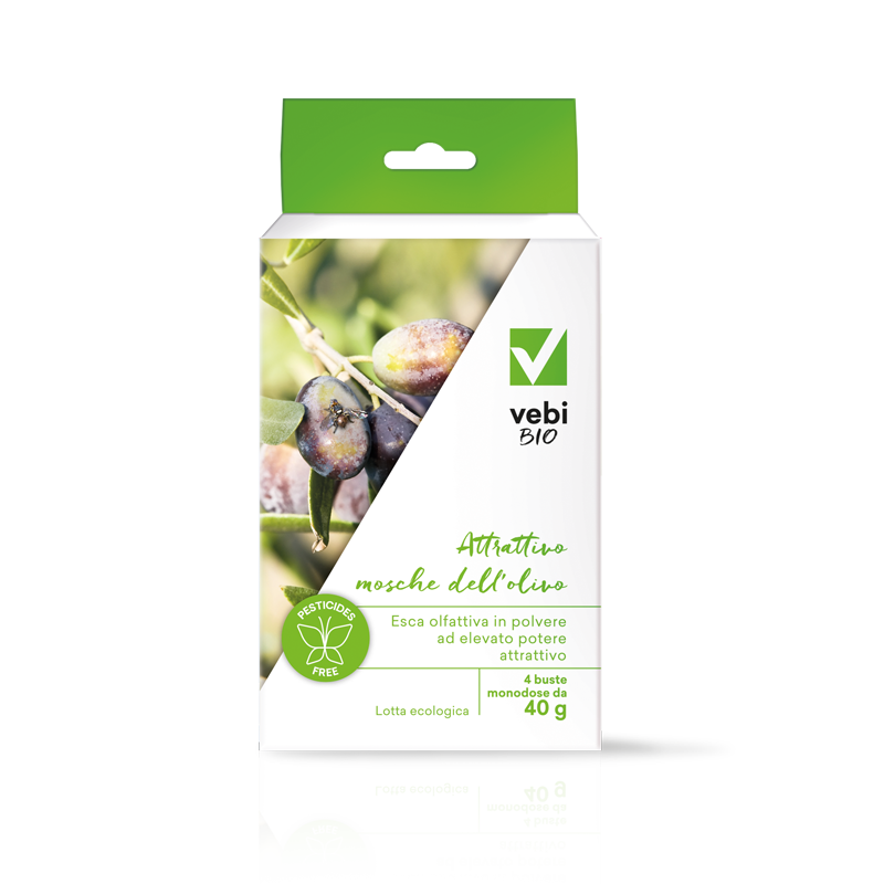 Attrattivo mosche dell'olivo