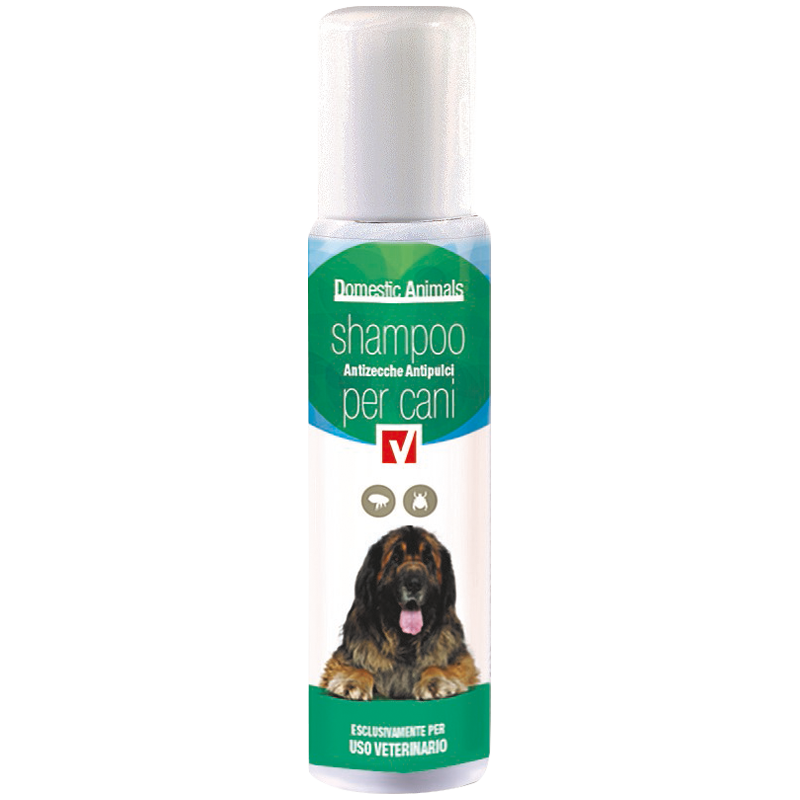 Domestic animals shampoo per animali