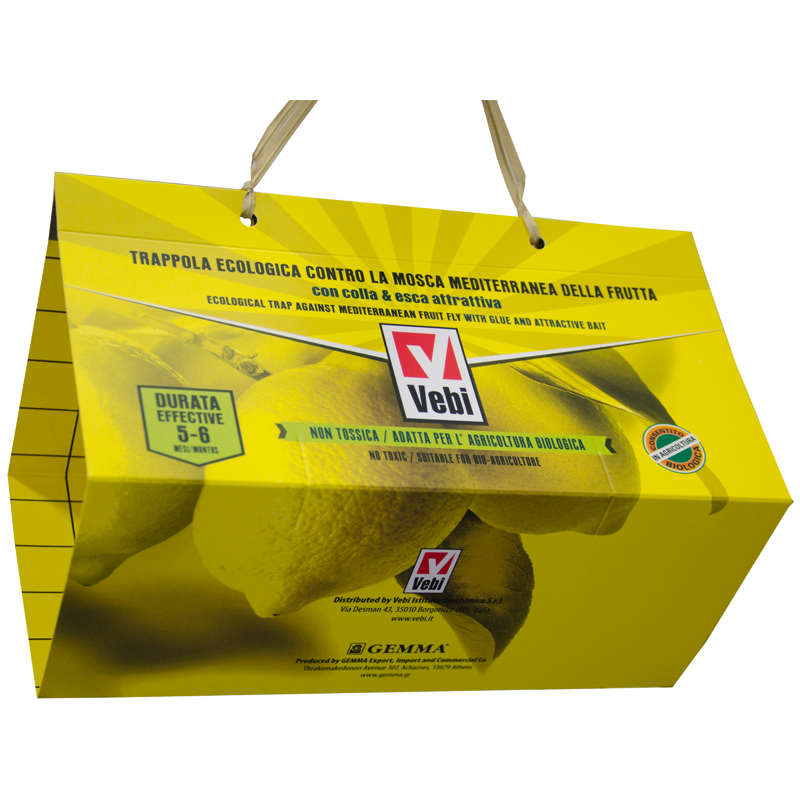 Trappola per mosca mediterranea Pagoda yellow