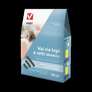 Repellente Vai via topi e ratti granuli